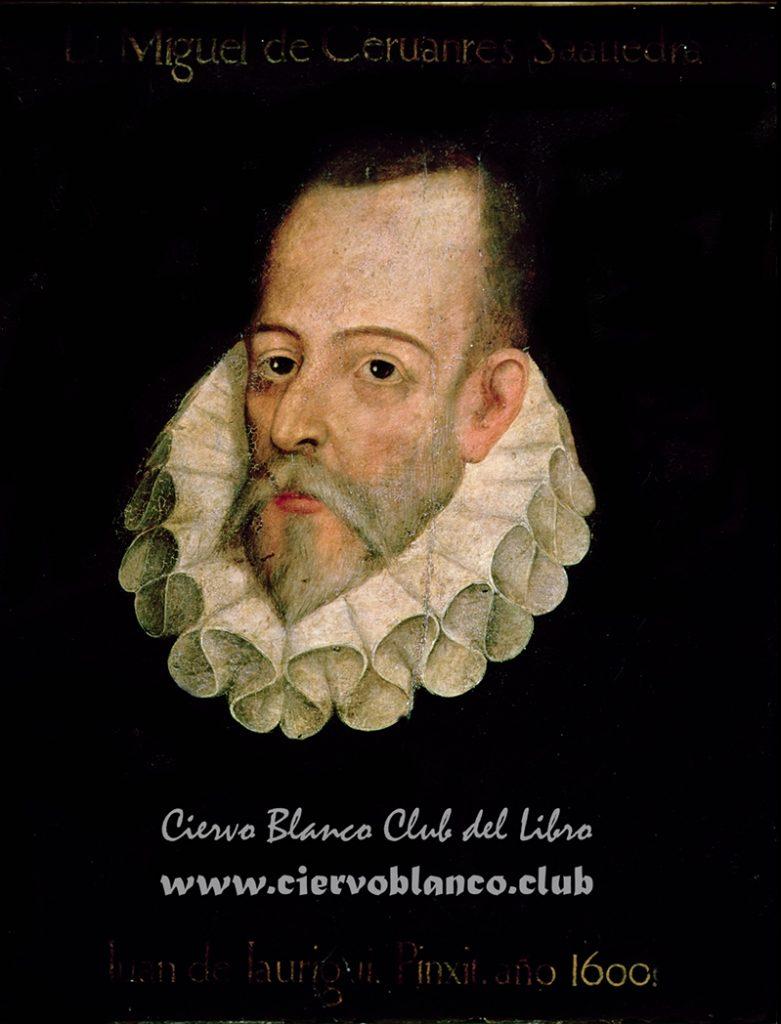 IND119216 Portrait of Miguel de Cervantes y Saavedra (1547-1615) 1600 (oil on panel) by Jauregui y Aguilar, Juan de (c.1566-1641); Real Academia de la Historia, Madrid, Spain; Index; Spanish, out of copyright