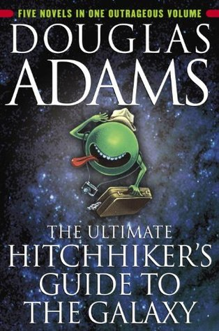 The Hitchhiker's Guide to the Galaxy douglas adams book discussion madrid free novel club ciervo blanco