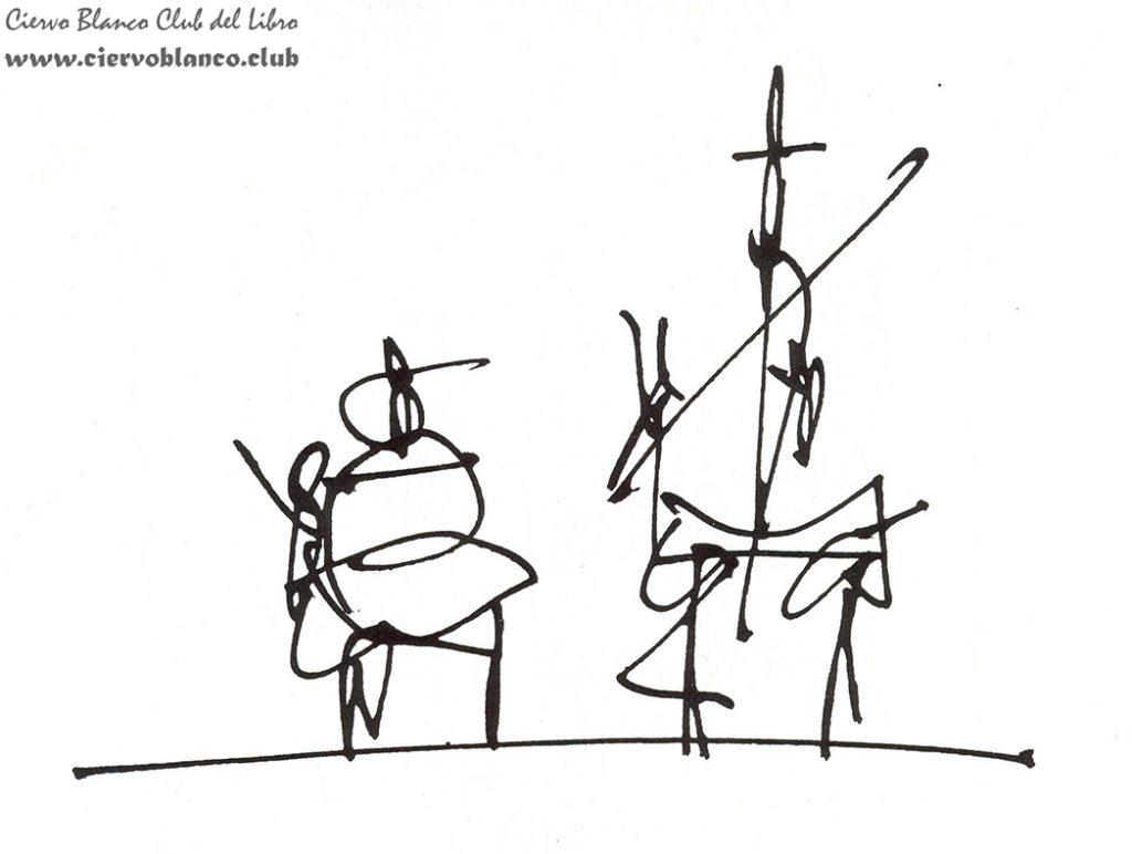don quijote de la mancha tertulia literaria miguel de cercantes club libro madrid ciervo blanco