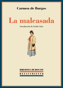 malcasada carmen burgos tertulia literaria madrid gratis club libro novela ciervo blanco