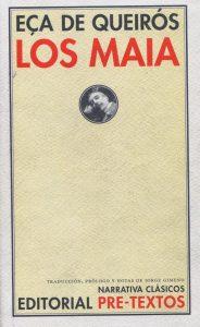 los maia eço de queiroz tertulia literaria madrid club libro lectura ciervo blanco