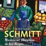 Monsieur Ibrahim et les fleurs du Coran Éric-Emmanuel Schmitt soiree litteraire français madrid club ciervo blanco